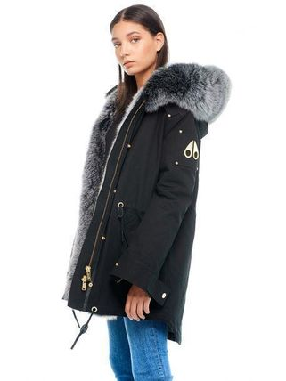 Fur Plain Logo Jackets