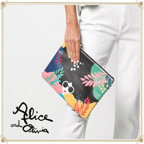 Alice+Olivia Bag in Bag Leather Elegant Style Clutches