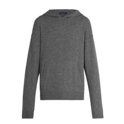 Louis Vuitton Sweaters Pullovers Cashmere Long Sleeves Plain Oversized Luxury 2