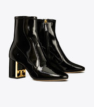 Tory Burch Leather Party Style Elegant Style Ankle & Booties Boots