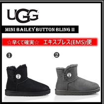 UGG Australia BAILEY BUTTON Casual Style Plain Boots Boots