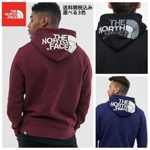 THE NORTH FACE Unisex Blended Fabrics Street Style Plain Hoodies