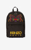 KENZO Casual Style Canvas Backpacks