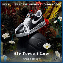 Nike AIR FORCE 1 Street Style Collaboration Plain Sneakers