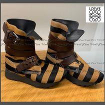 LOEWE Leather Ankle & Booties Boots
