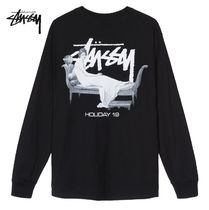 STUSSY Street Style Long Sleeves Long Sleeve T-Shirts