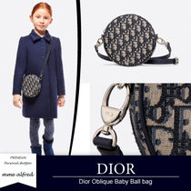 Christian Dior Casual Style Unisex Leather Shoulder Bags