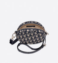 Christian Dior Casual Style Unisex Leather Crossbody Logo Shoulder Bags