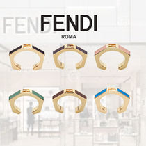 FENDI Casual Style Party Style Elegant Style Rings