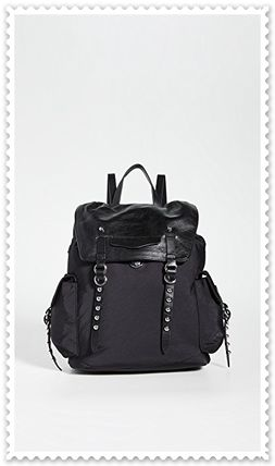 Nylon Elegant Style Backpacks
