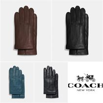 Coach Plain Gloves Gloves
