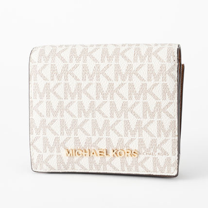 Monogram Leather PVC Clothing Folding Wallet Small Wallet