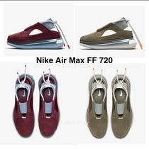 Nike AIR MAX 720 Rubber Sole Casual Style Blended Fabrics Street Style Plain