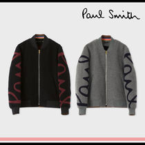 Paul Smith Short Unisex Wool MA-1 Bomber Jackets