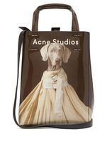 Acne Street Style 3WAY Other Animal Patterns PVC Clothing Totes