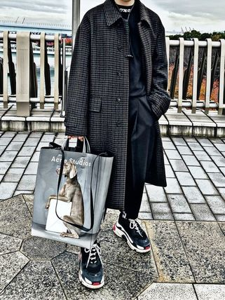 Casual Style Street Style 3WAY Other Animal Patterns