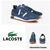 LACOSTE Casual Style Unisex Plain Low-Top Sneakers