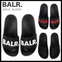 BALR Unisex Shower Shoes Logo Shower Sandals