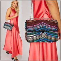 SKINNYDIP Chain Party Style Elegant Style Shoulder Bags