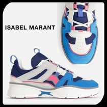 Isabel Marant Unisex Suede Blended Fabrics Street Style Sneakers