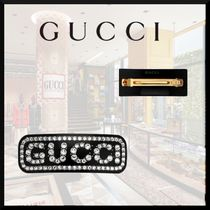 GUCCI Barettes Casual Style Elegant Style Clips