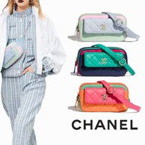 CHANEL Casual Style 2WAY Plain Shoulder Bags
