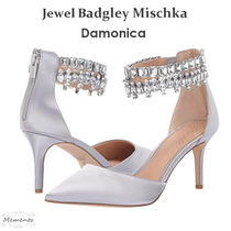 Badgley Mischka Party Style With Jewels Pointed Toe Pumps & Mules