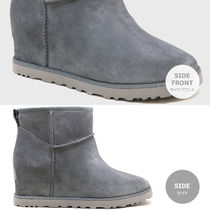 UGG Australia Fur Logo Ankle & Booties Boots