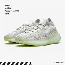 adidas YEEZY Camouflage Unisex Street Style Collaboration Plain Sneakers