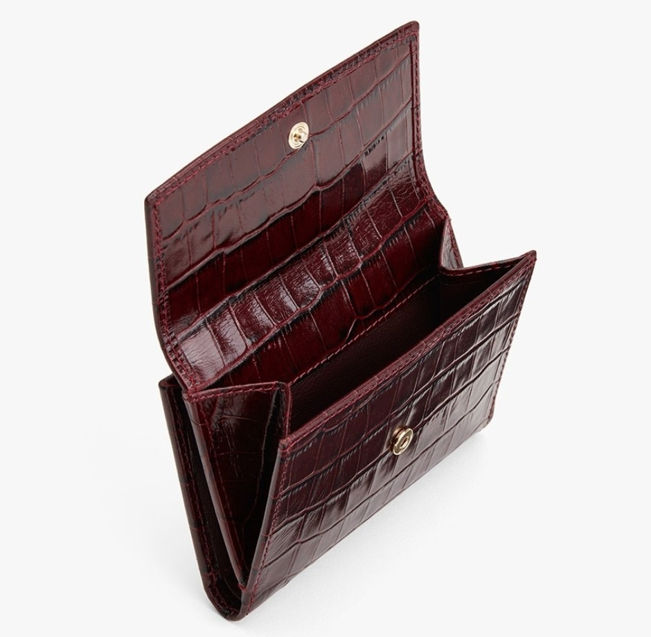 shop cuyana wallets & card holders