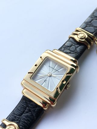 Leather Square Party Style Quartz Watches Jewelry Watches