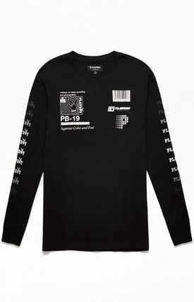 Crew Neck Collaboration Long Sleeves Long Sleeve T-shirt