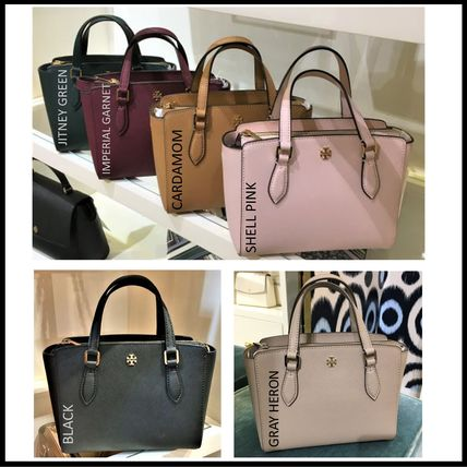 Saffiano 2WAY Plain Crossbody Handbags