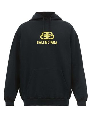 BALENCIAGA Pullovers Unisex Sweat Street Style Long Sleeves Cotton