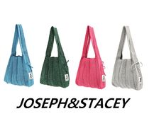 JOSEPH&STACEY Street Style Collaboration Plain Shoppers