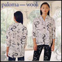 Paloma Wool Casual Style Street Style Long Sleeves Shirts & Blouses