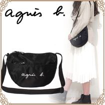 Agnes b Casual Style Shoulder Bags