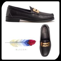 BUSCEMI Loafers Plain Leather U Tips Loafers & Slip-ons