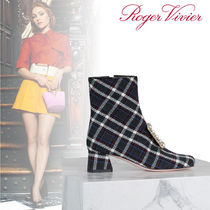 Roger Vivier Tartan Ankle & Booties Boots