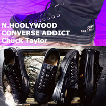 N.HOOLYWOOD Unisex Street Style Collaboration Low-Top Sneakers