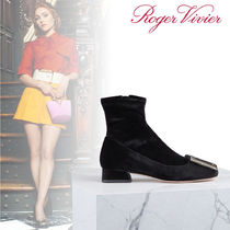 Roger Vivier Square Toe Ankle & Booties Boots