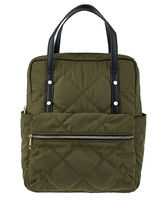 Accessorize Casual Style A4 2WAY Plain Elegant Style Khaki Backpacks