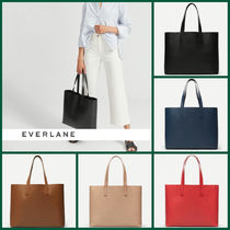 Everlane Casual Style Leather Office Style Elegant Style Totes
