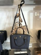 Tory Burch Plain Leather Crossbody Formal Style  Totes