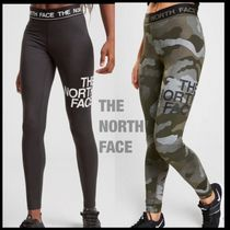 THE NORTH FACE Camouflage Street Style Plain Leggings Pants