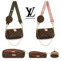 Louis Vuitton MONOGRAM Monogram Canvas Blended Fabrics Bag in Bag 3WAY Chain