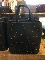 Tory Burch Casual Style Plain Leather Totes