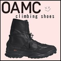 OAMC Street Style Leather Shoes