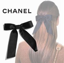 CHANEL Barettes Casual Style Handmade Party Style Elegant Style