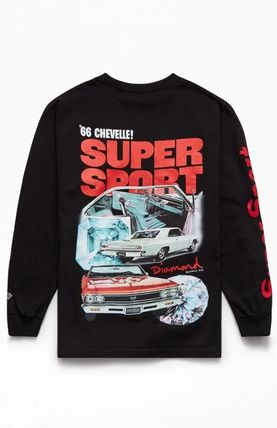 Crew Neck Long Sleeves Long Sleeve T-shirt